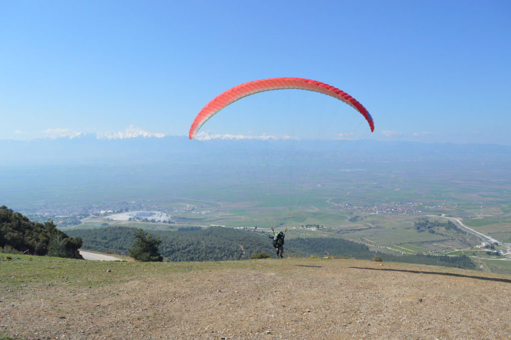 Pamukkale, Denizli, Turkey tandem training.