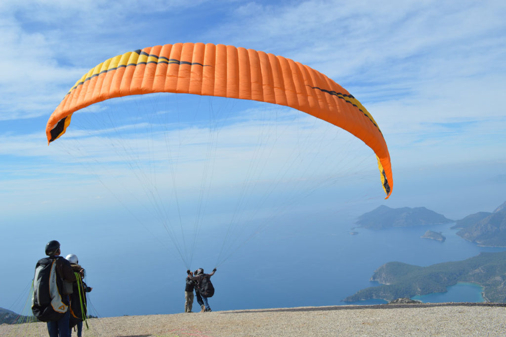 Babadag, Oludeniz, Turkey tandem training.